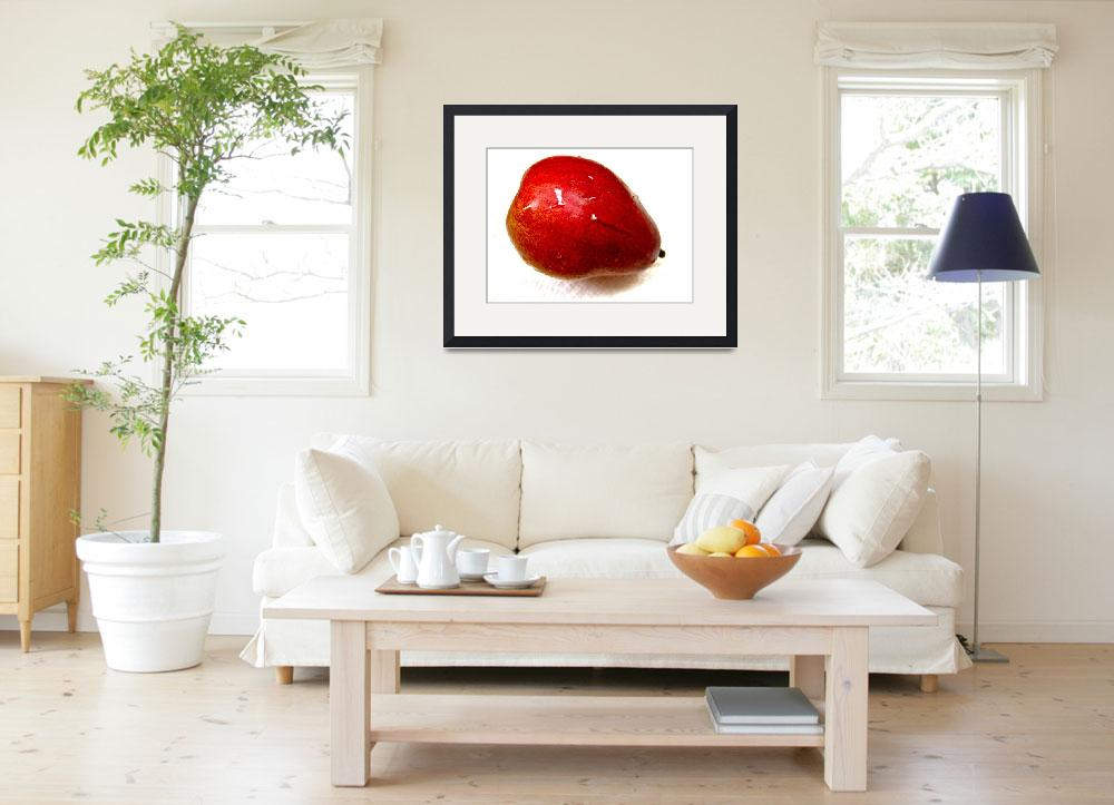 """""""Red Pear&quot  (2010) by JamesCalore"""