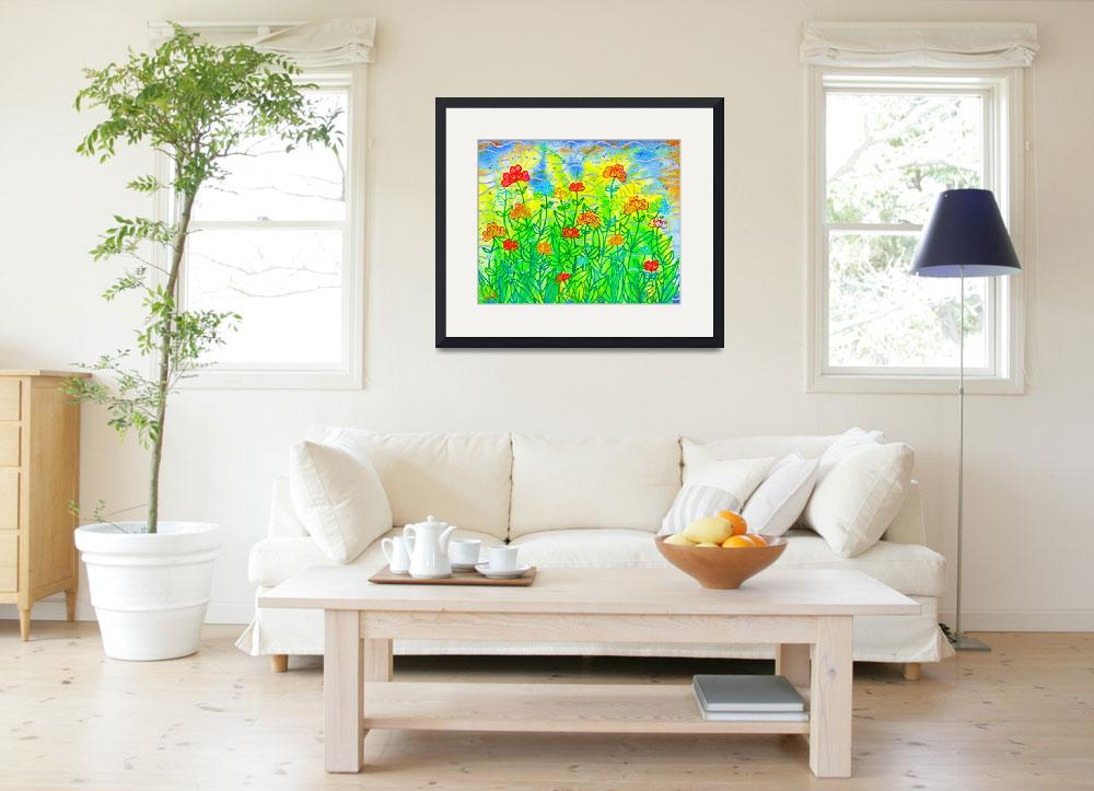 """""""Color Me Carefree&quot  (2012) by SandraGouldFord"""