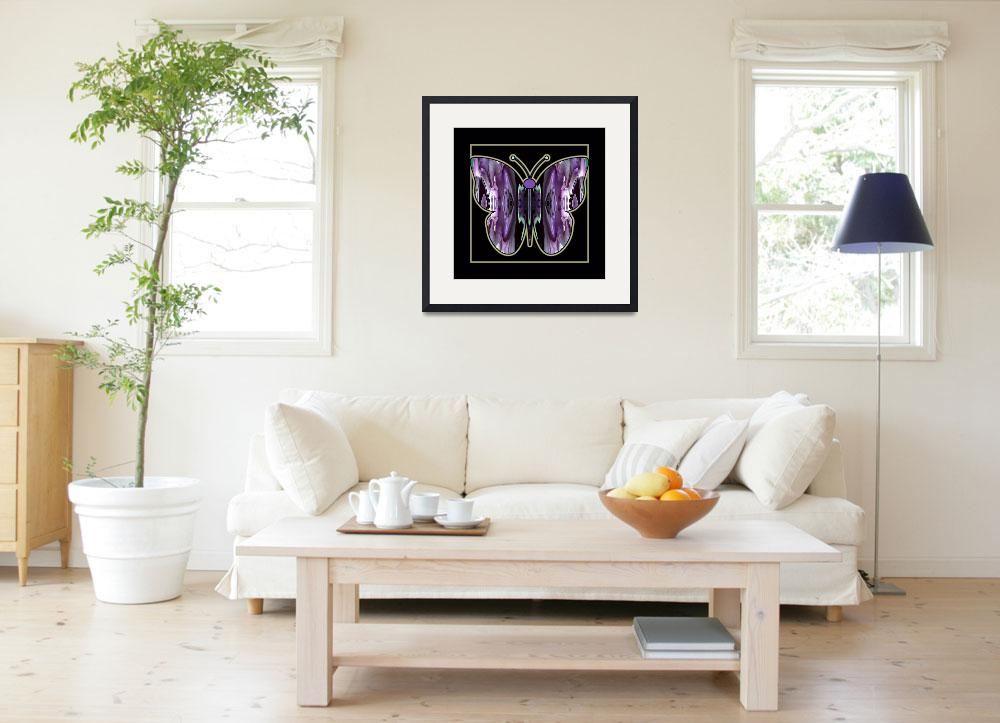 """""""Abstract_Butterfly-03&quot  (2014) by AppleCoreStudio"""