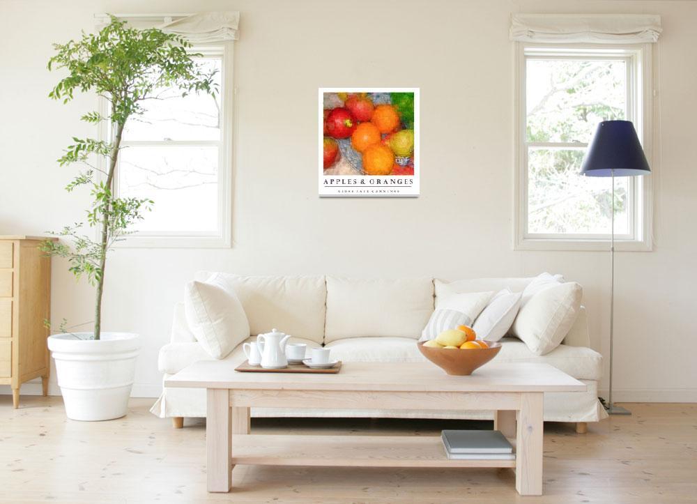"""Apples & Oranges""  by artistfaye"