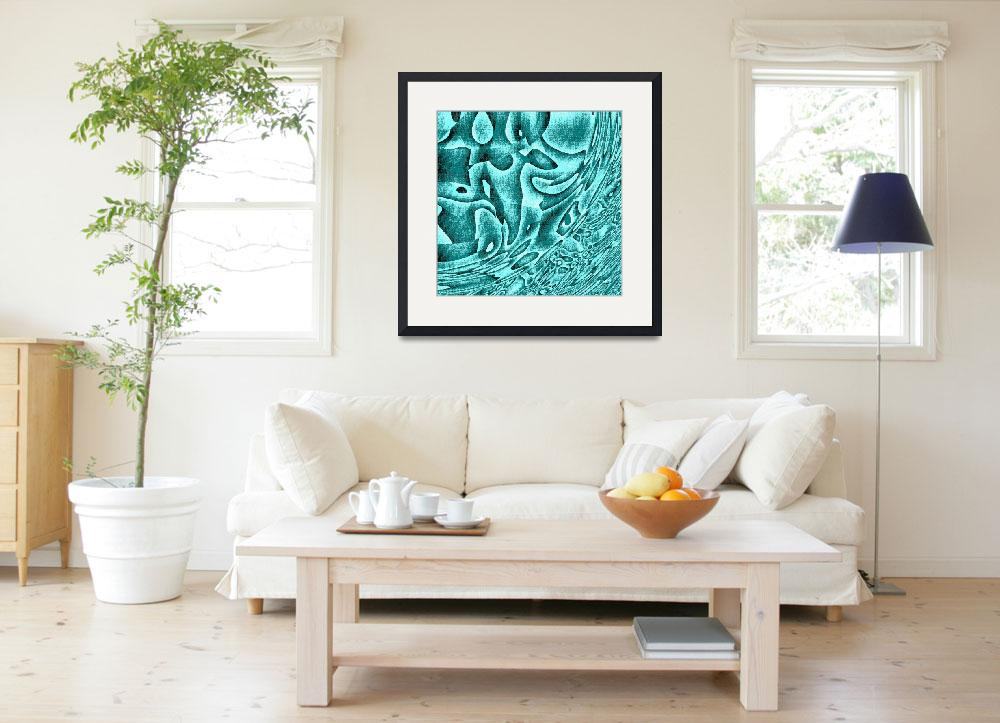 """""""Turquoise Waters""""  (2010) by AnneMarieBaugh"""