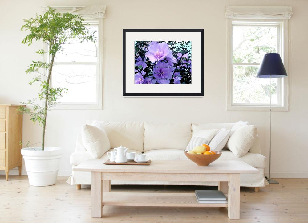 """""""Inspirational Floral Decor&quot  (2013) by Lucine"""