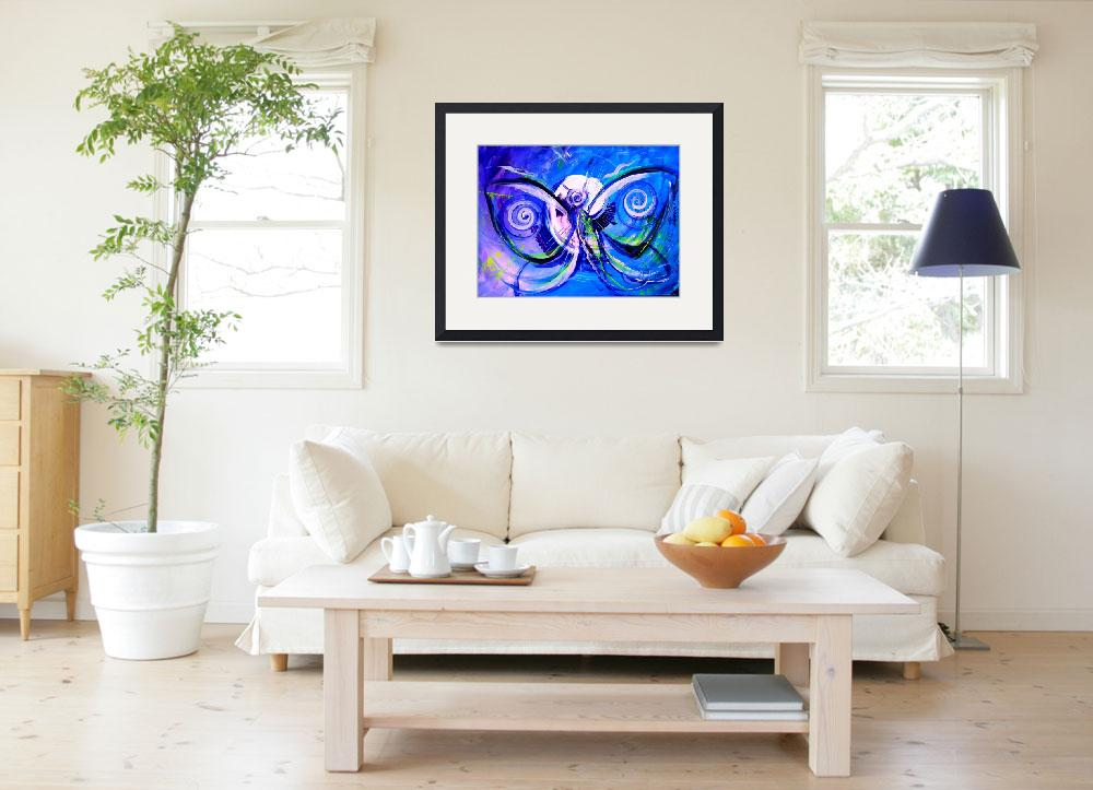 """""""Butterfly Blue Violet""""  (2015) by scarpace"""