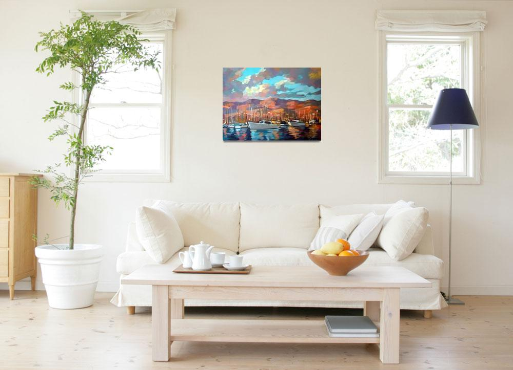 """Santa Barbara&quot  (2010) by painterflipper"