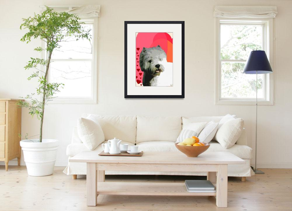 """""""West Highland White Terrier""""  (2012) by OneRudeDawg"""