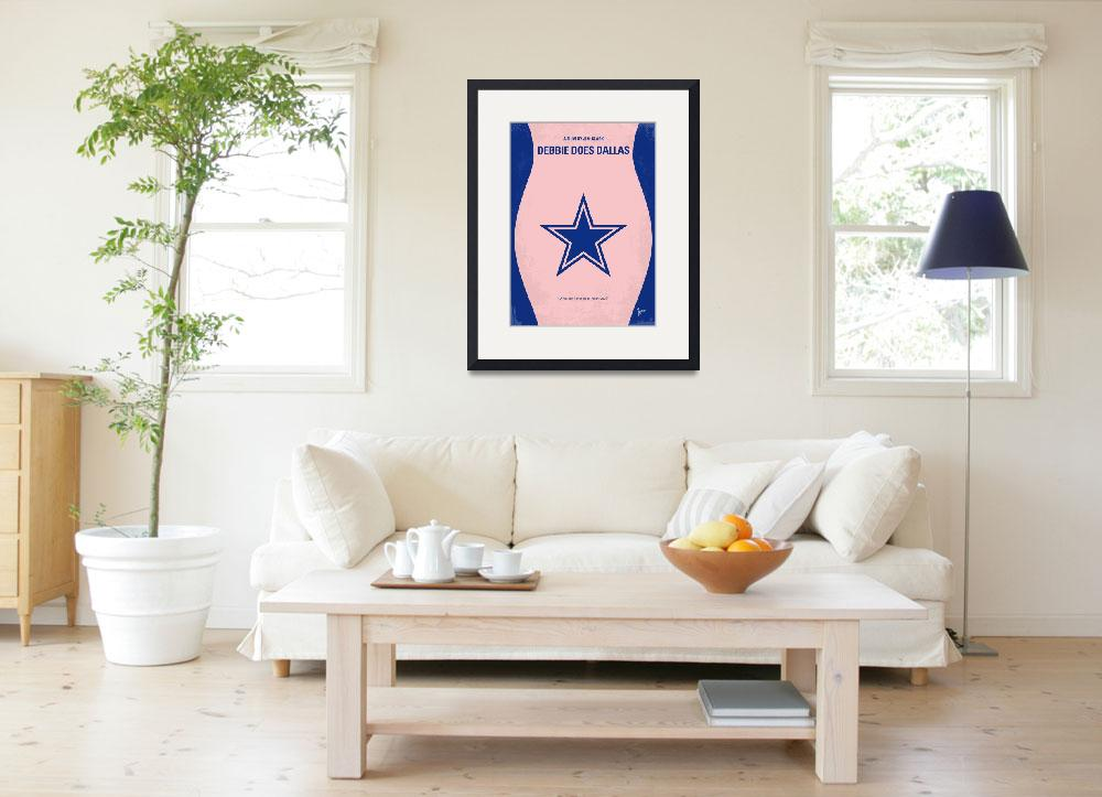 """""""No302 My DEBBIE DOES DALLAS minimal movie poster""""  by Chungkong"""