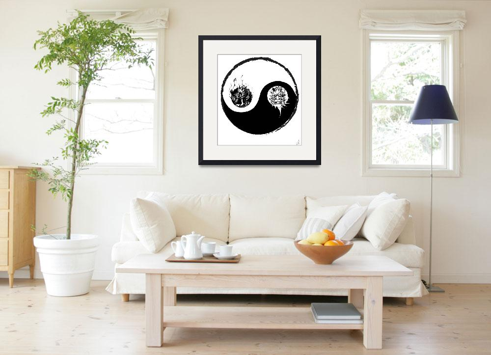 """""""Yin Yang&quot  (2009) by mrarc"""