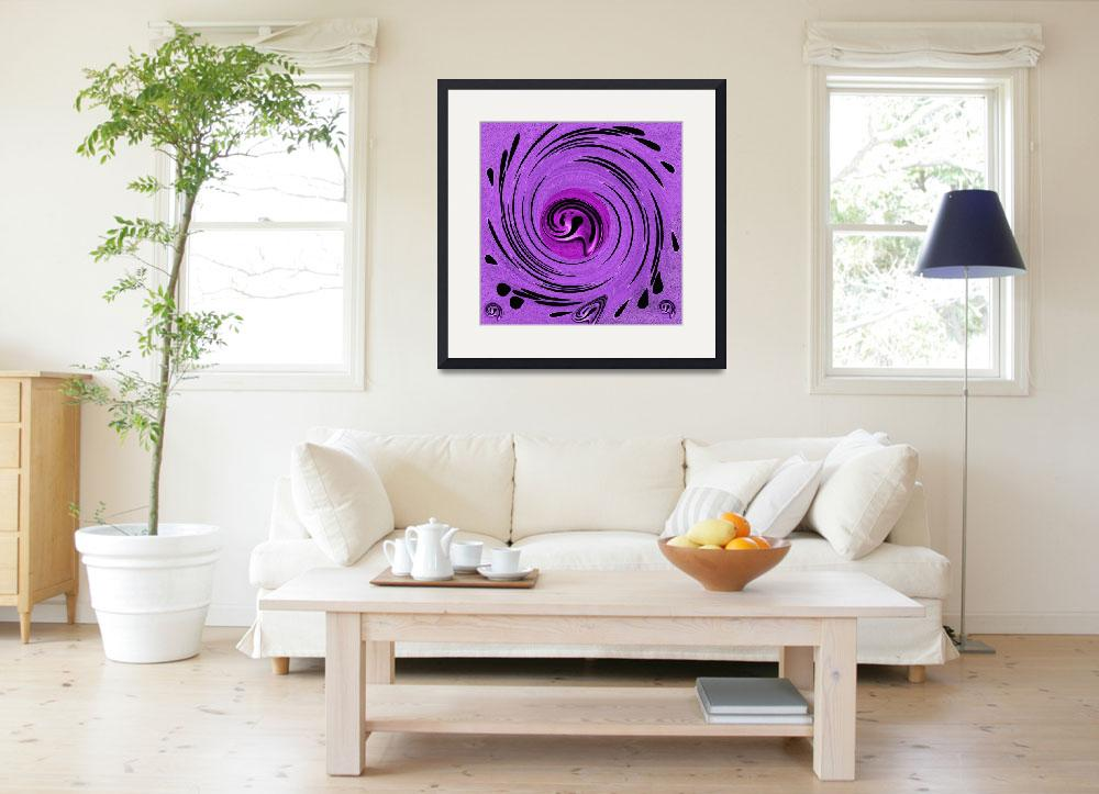 """""""Decorative In Purples""""  (2014) by PepitaSelles"""