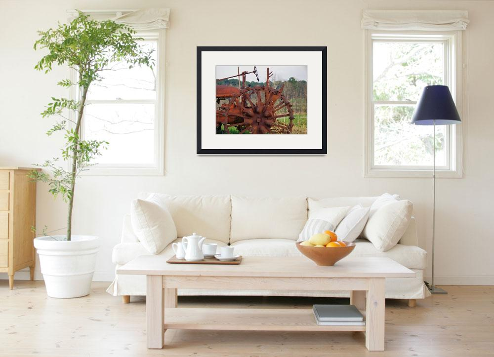 """""""Antique Tractor&quot  (2011) by bettynorthcutt"""