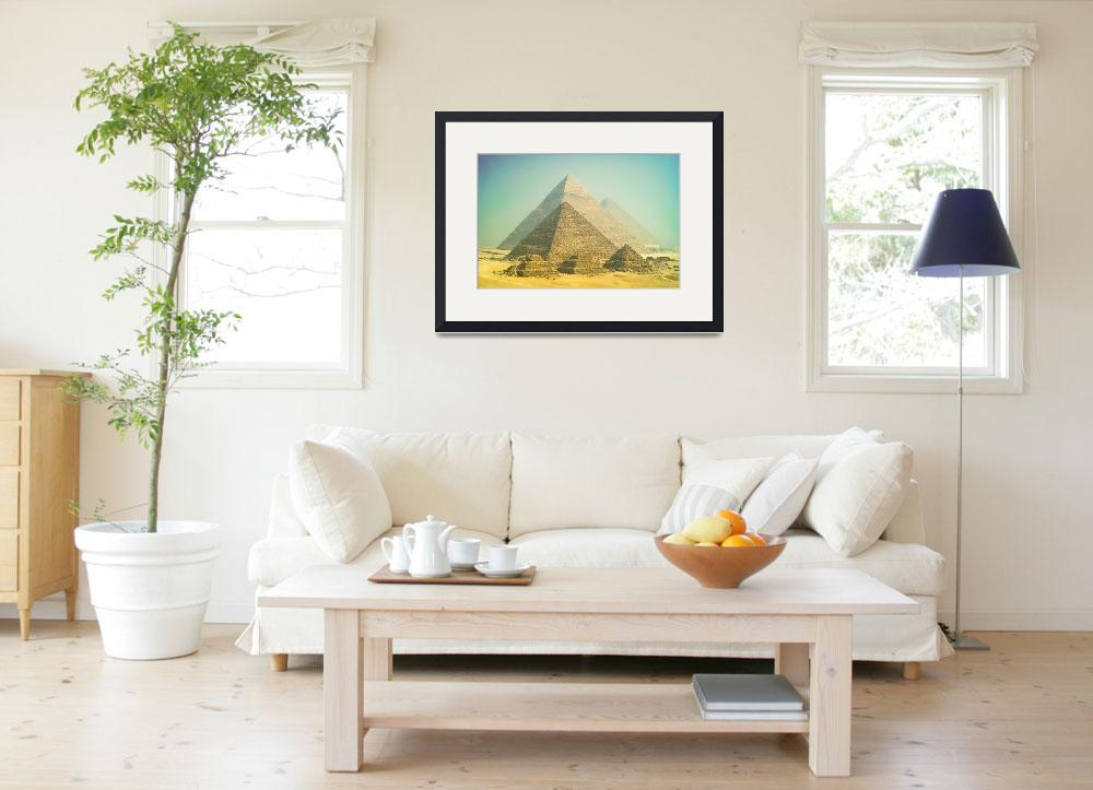 """""""Giza in the morning&quot  (2013) by motleymenagerie"""