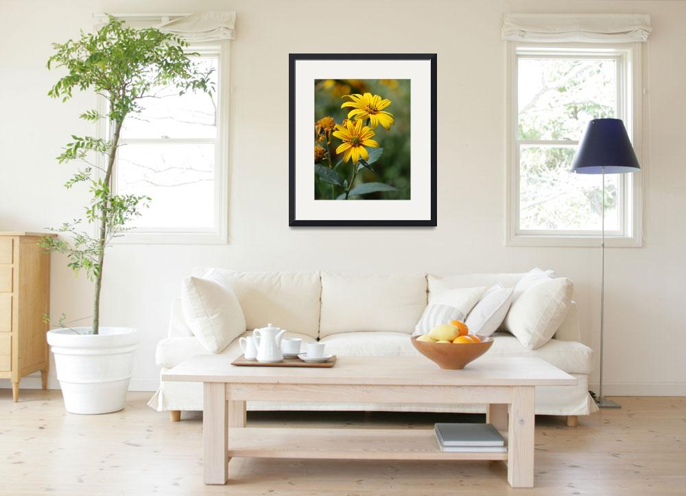 """""""Yellow Flower&quot  (2009) by kearly"""