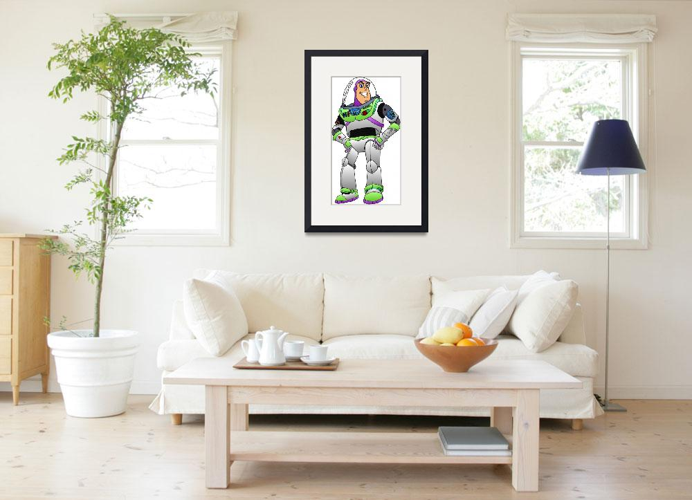 """""""Buzz Lightyear (Toy Story)&quot  (2011) by RyanH1984"""