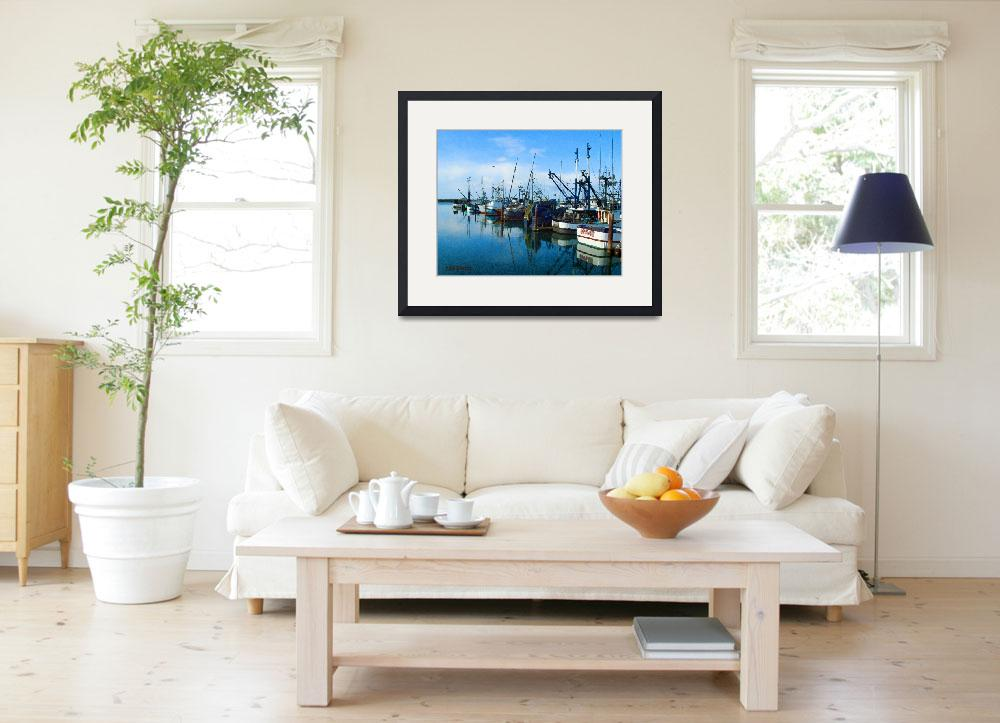 """""""Cresent city harbor&quot  (2009) by nicoindo"""