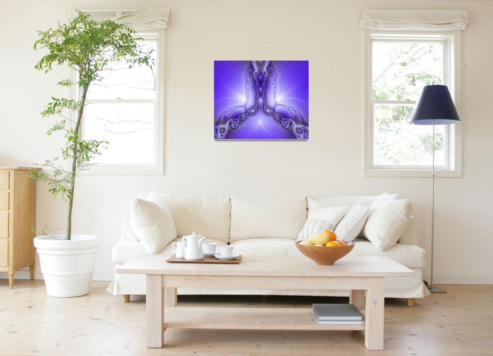 """Blue Design""  (2009) by digitalmedia"