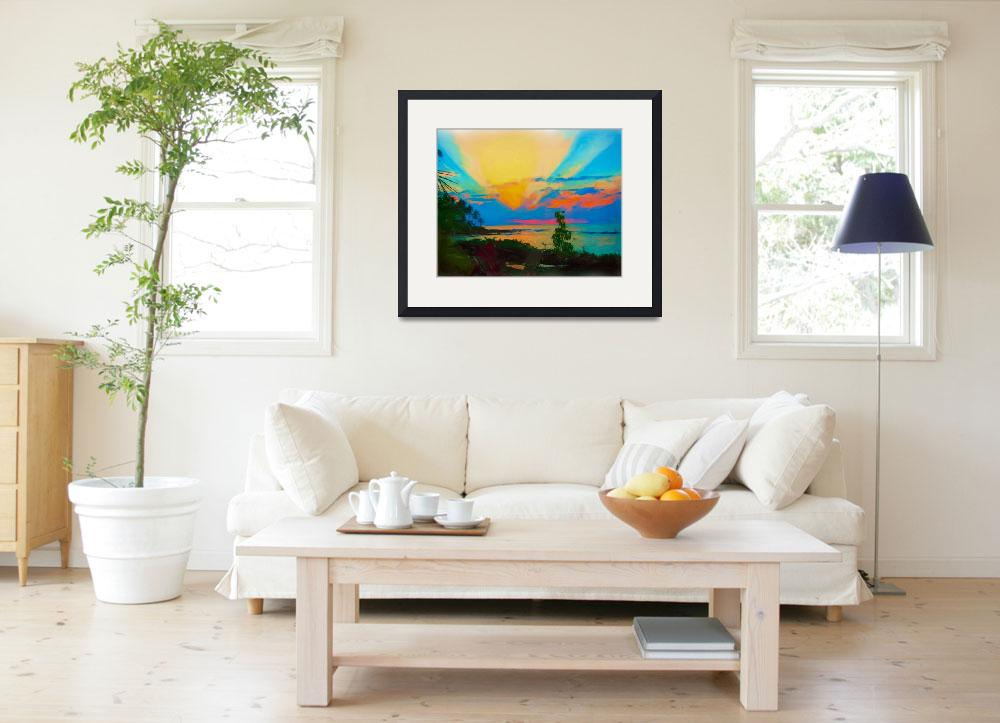 """""""Sunset in Paradise&quot  (2010) by CarlaG"""