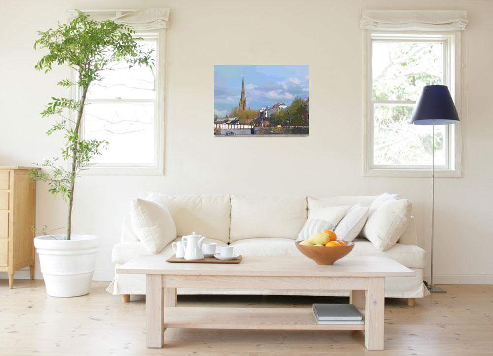 """""""St Mary Redcliffe""""  (2012) by Scolas"""