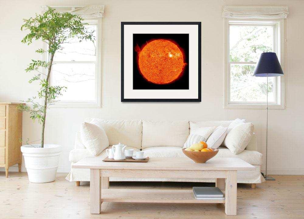 """""""Solar activity on the Sun&quot  by stocktrekimages"""