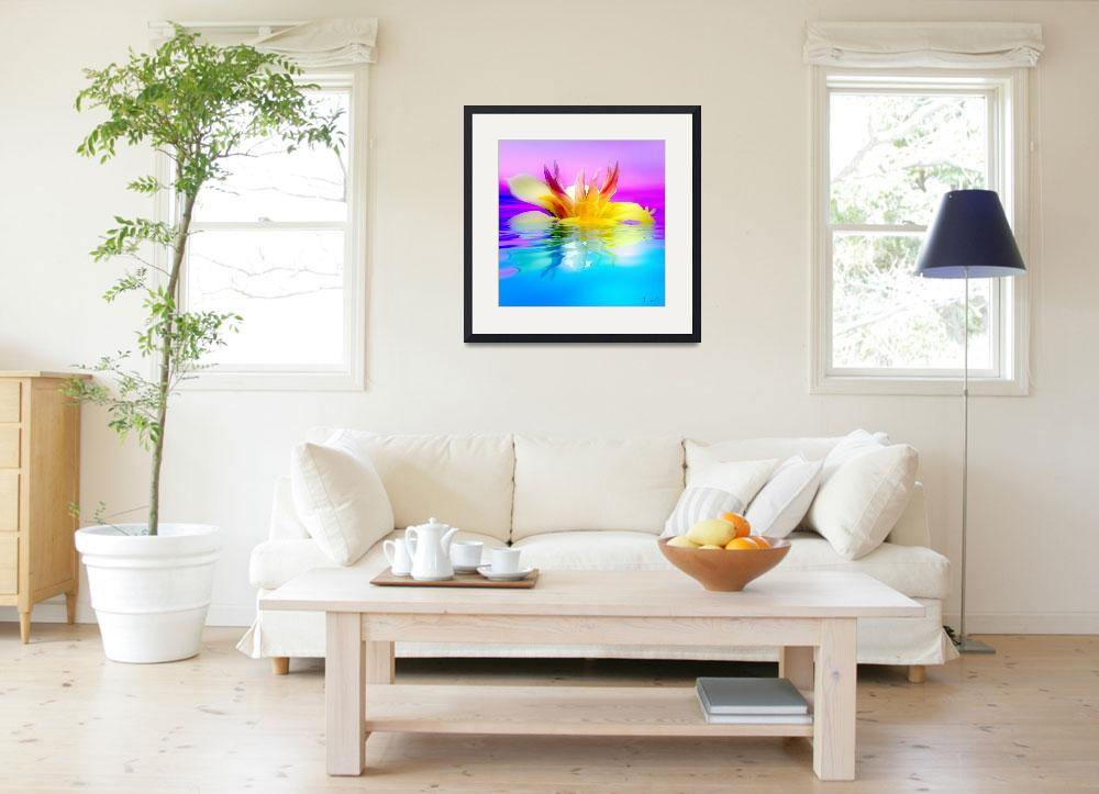 """""""Tropical Flower&quot  (2008) by AnneVis"""