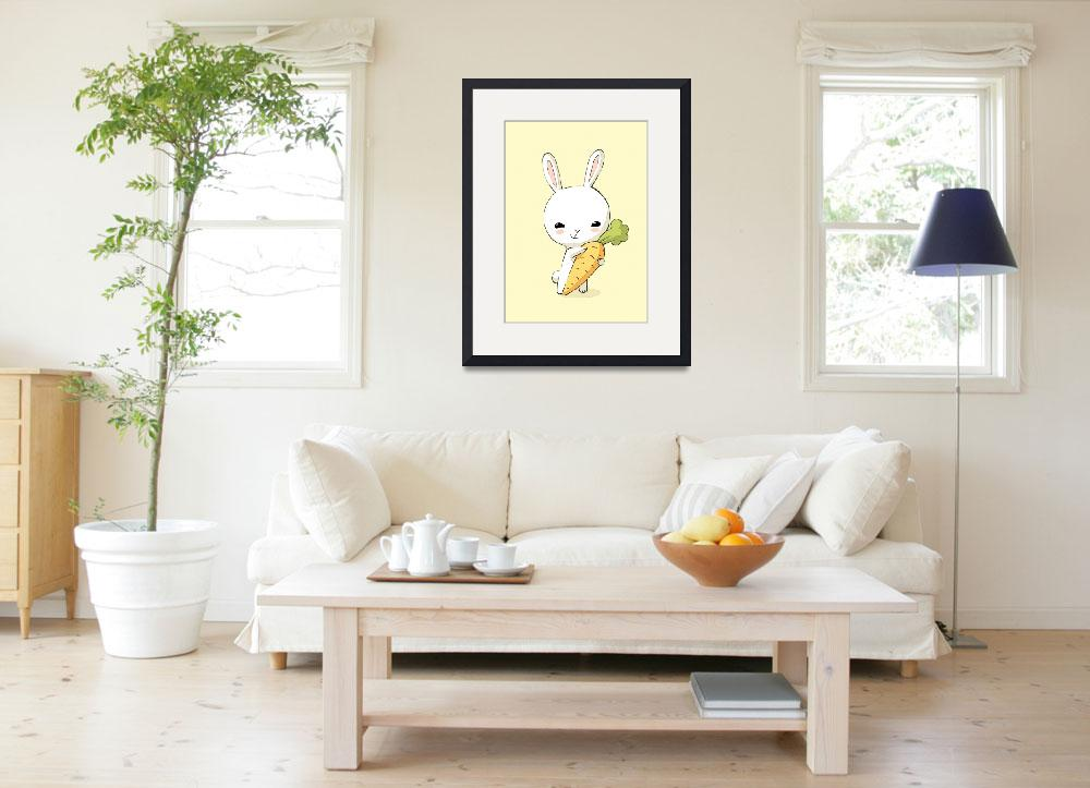 """""""Bunny Carrot 2&quot  (2012) by freeminds"""