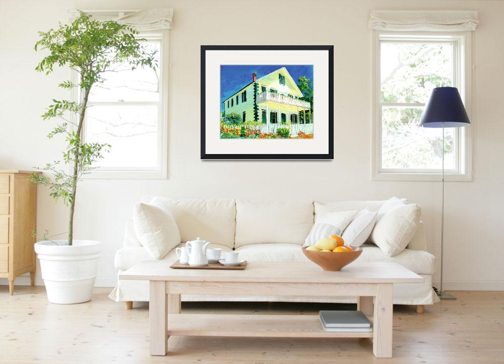 """""""McCoy House Old Town San Diego&quot  (2007) by RDRiccoboni"""