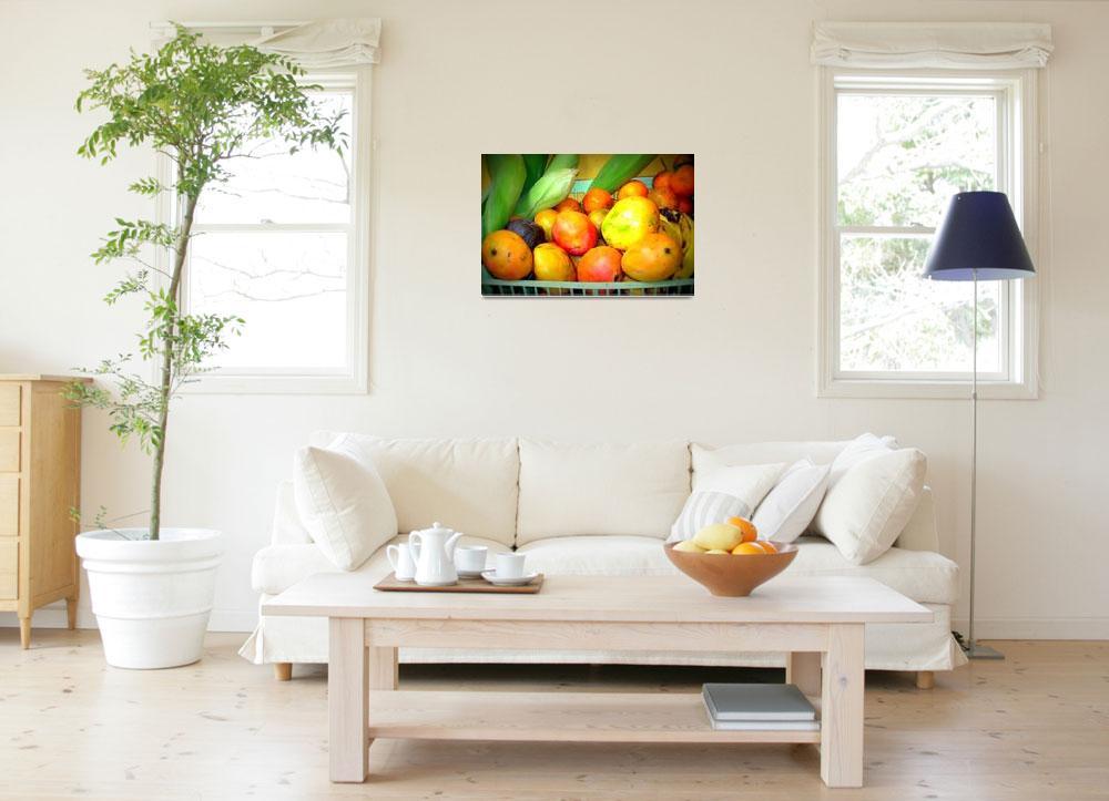 """Corn and Fruit""  (2011) by skyaroundtheworld"