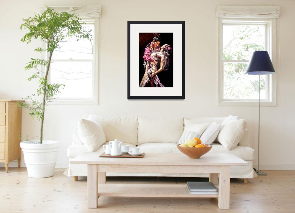 """""""flamenco Dancers&quot  (2011) by Kevinmeredith"""