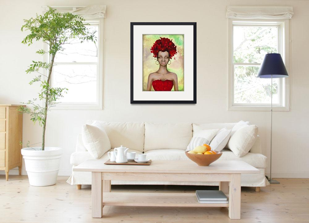 """""""Crazy Red hair Morning""""  by Art_by_Lilia"""