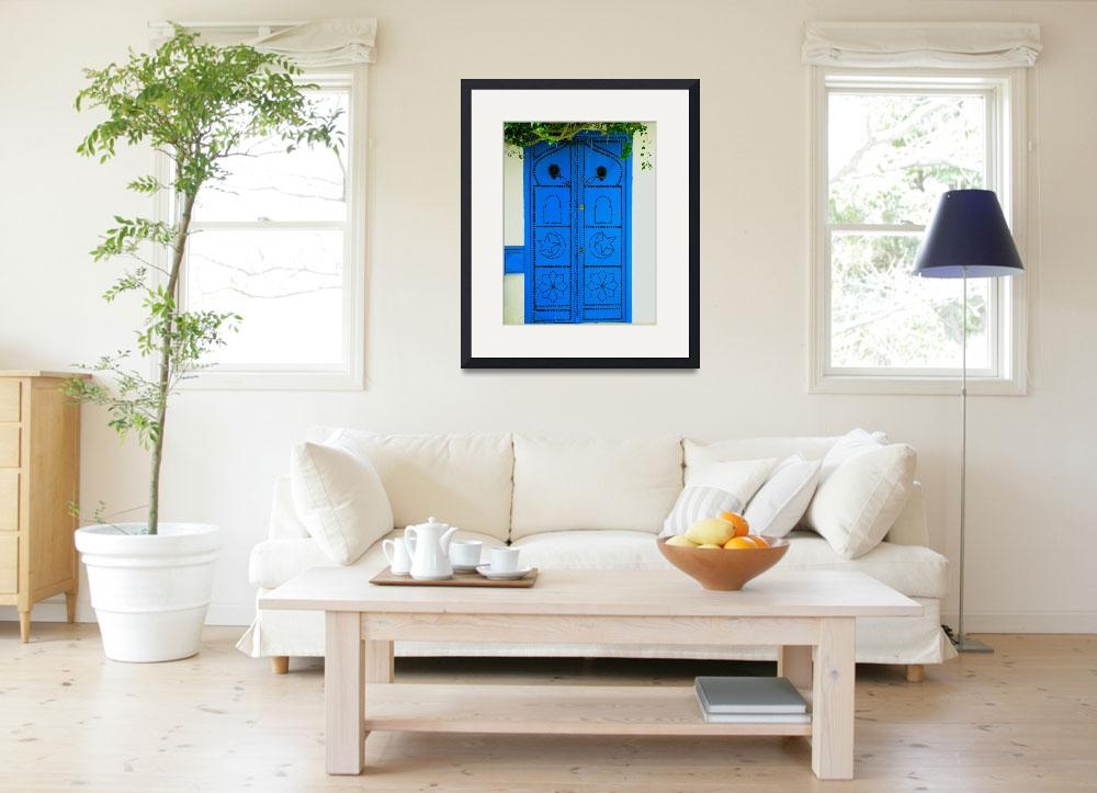 """""""Blue Door&quot  (2007) by rayjacque"""