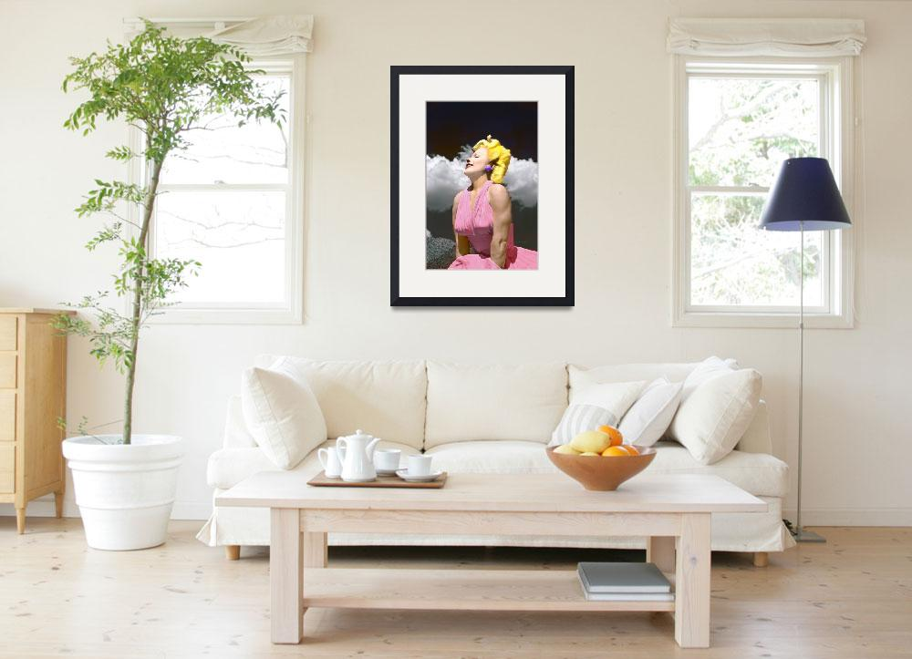 """""""Marilyn In Living Color&quot  (2013) by midcenturymodern"""