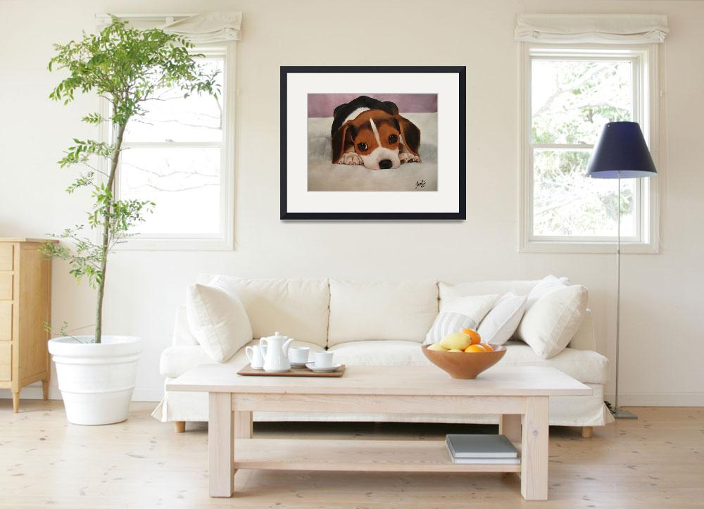 """""""Beagle Puppy""""  (2011) by T_ANG3L"""