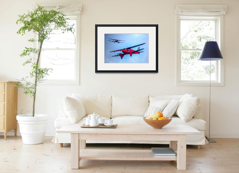 """""""The de Havilland DH.90 Dragonfly&quot  (2014) by ChrisLord"""