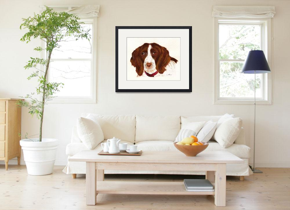 """English Springer Spaniel&quot  (2007) by Nanwright"