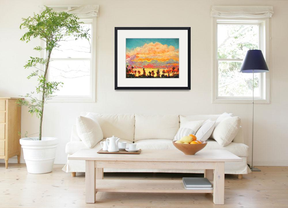 """""""Sunset over Panorama Street San Diego California&quot  (2007) by RDRiccoboni"""