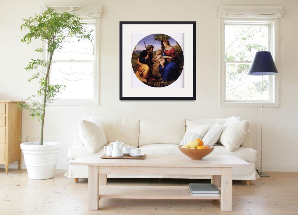 """""""The Holy Family with a Palm Tree&quot  by ArtLoversOnline"""