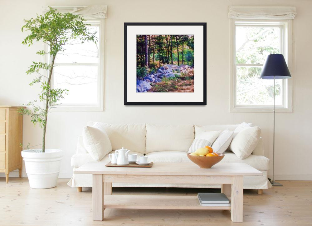 """""""New-Hampshire-forest-Large&quot  by SherylKaras"""