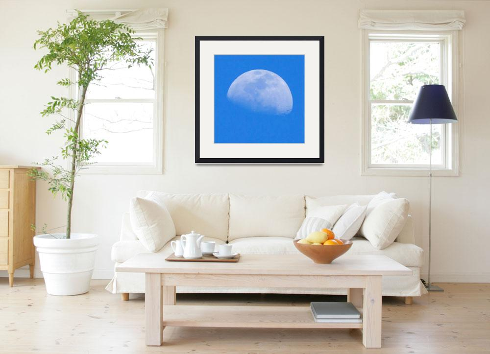 """""""Moon in Blue&quot  (2011) by AnimalsbyDiDi"""