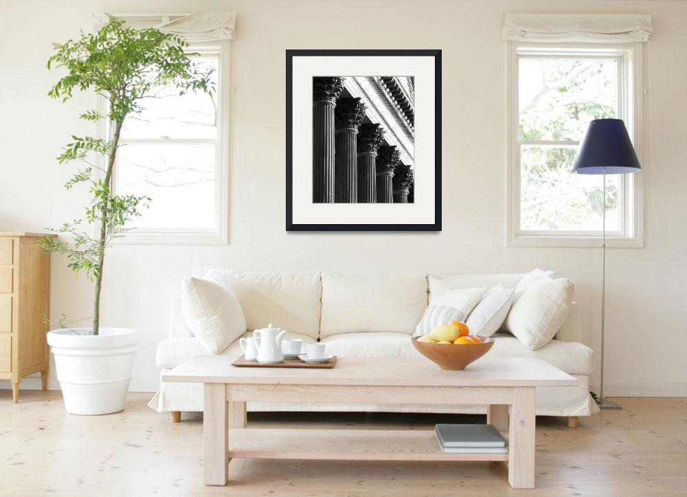 """""""Customs House Columns No. 1&quot  (2002) by PadgettGallery"""