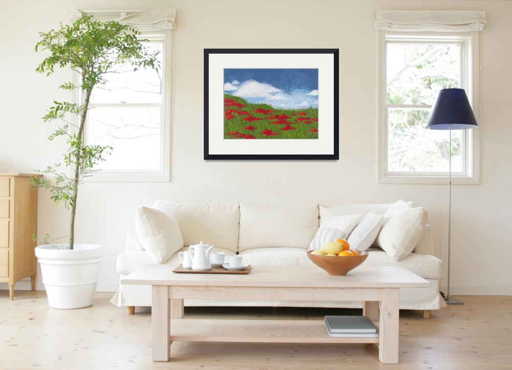 """""""Fluff and Poppies&quot  (2007) by kellyjcallahan"""