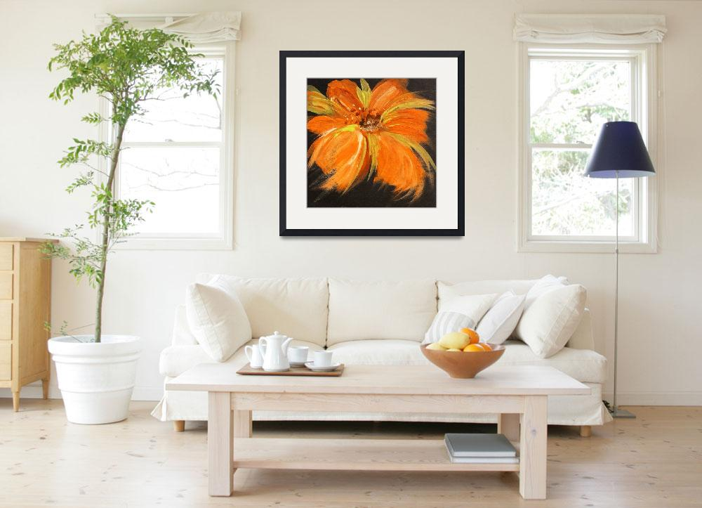 """""""Flaming Flower&quot  by Aneri"""