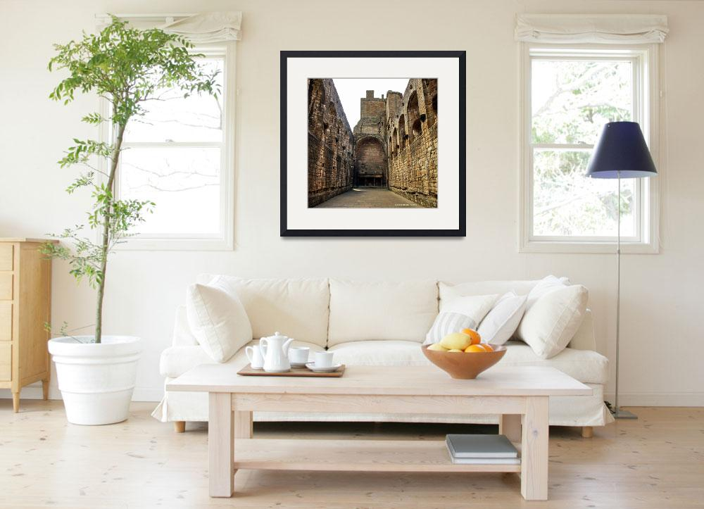 """""""Linlithgow Palace Scotland""""  (2013) by Wintercreeks"""