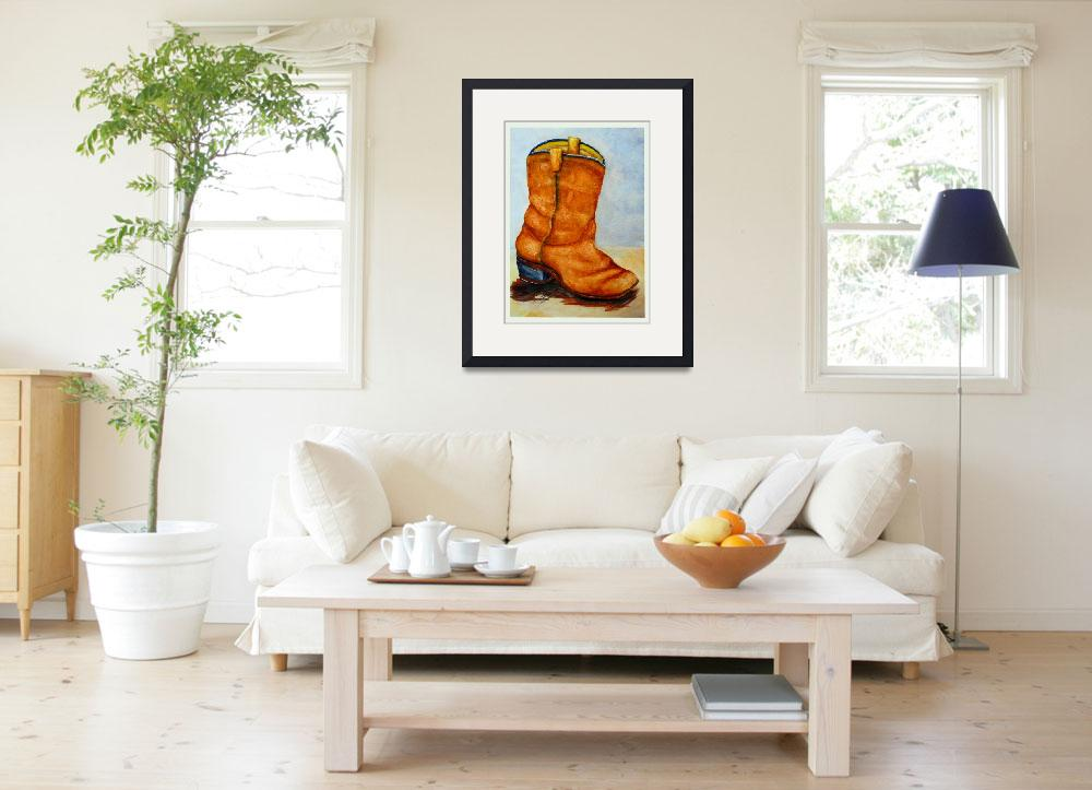 """""""Boot&quot  (2012) by KrisCourtney"""