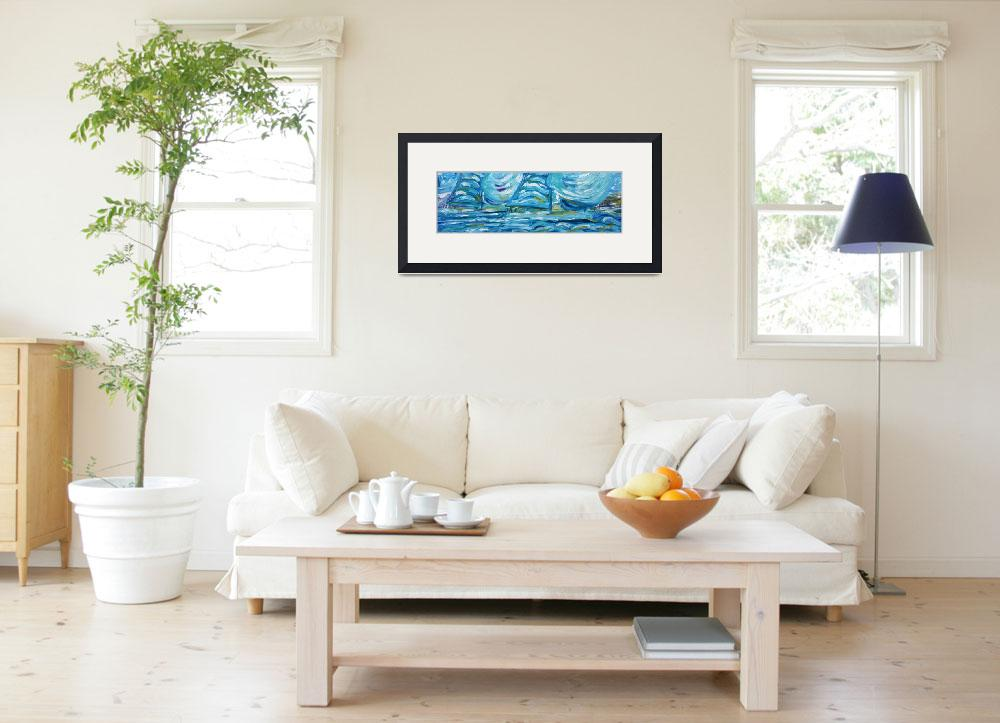 """""""Yacht and Sailing Painting&quot  by PeteCaswell"""