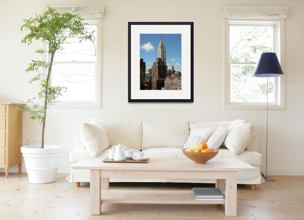 """""""New York Cityscape&quot  (2008) by rayjacque"""