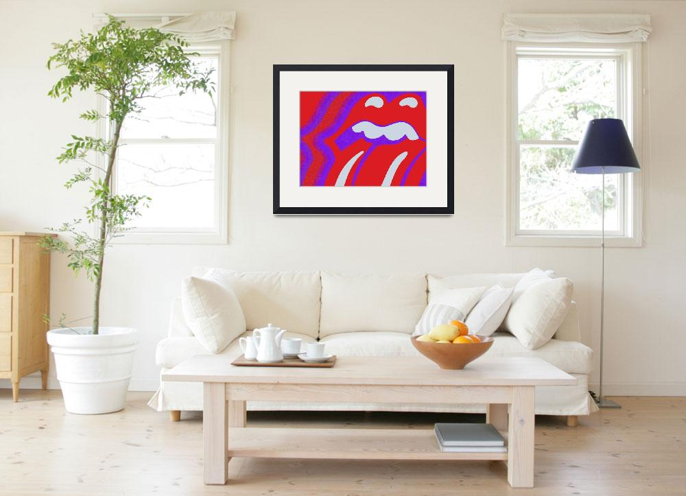 """Rolling Stones&quot  (2013) by RubinoFineArt"
