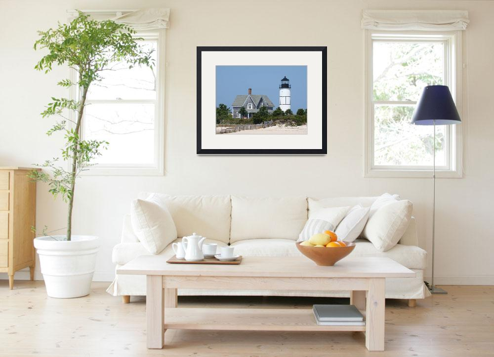 """Sandy Neck Lighthouse - Barnstable, MA&quot  by whale24"