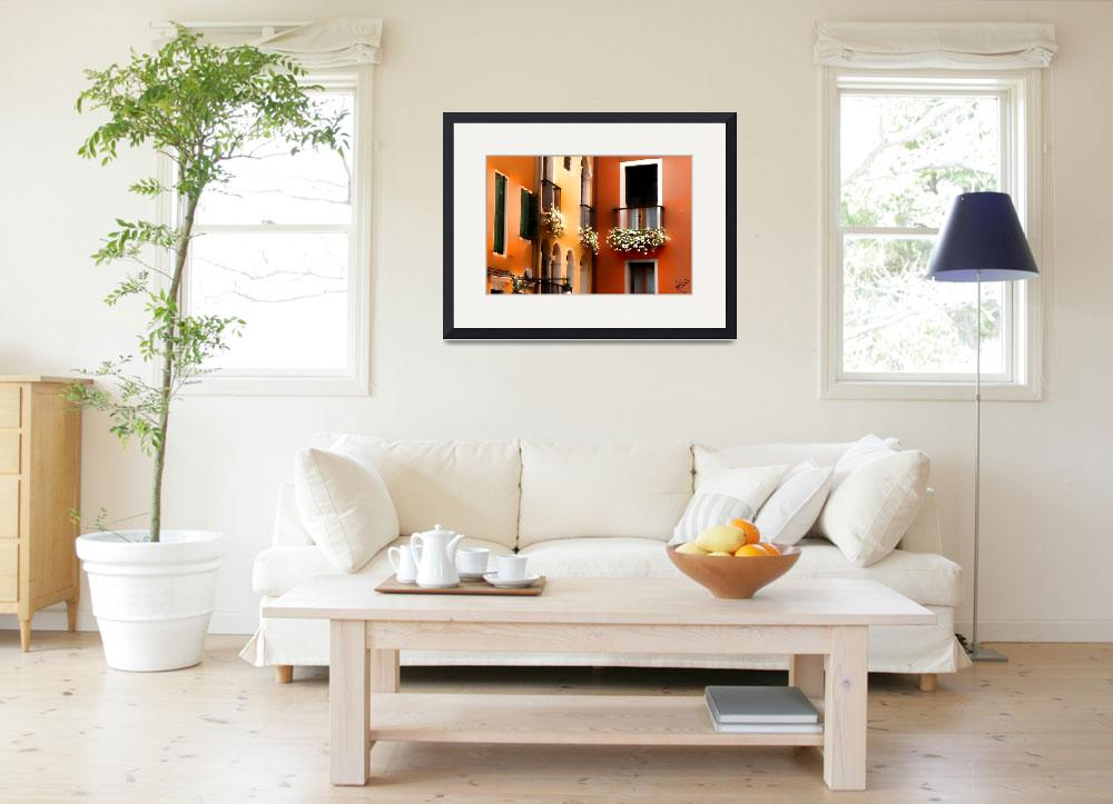 """""""Quiet Corner in Venice&quot  by marywhitmer"""