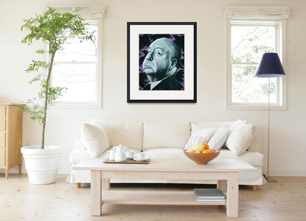 """""""Alfred Hitchcock&quot  (2010) by BoDillard"""