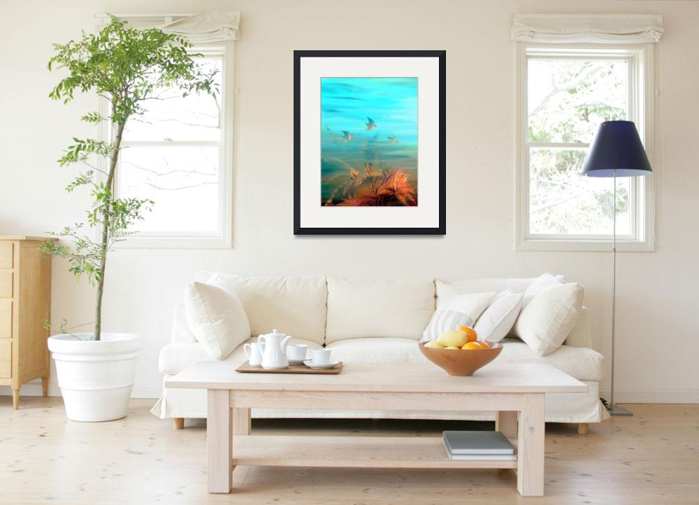 """""""The Reef&quot  (2009) by cleo"""