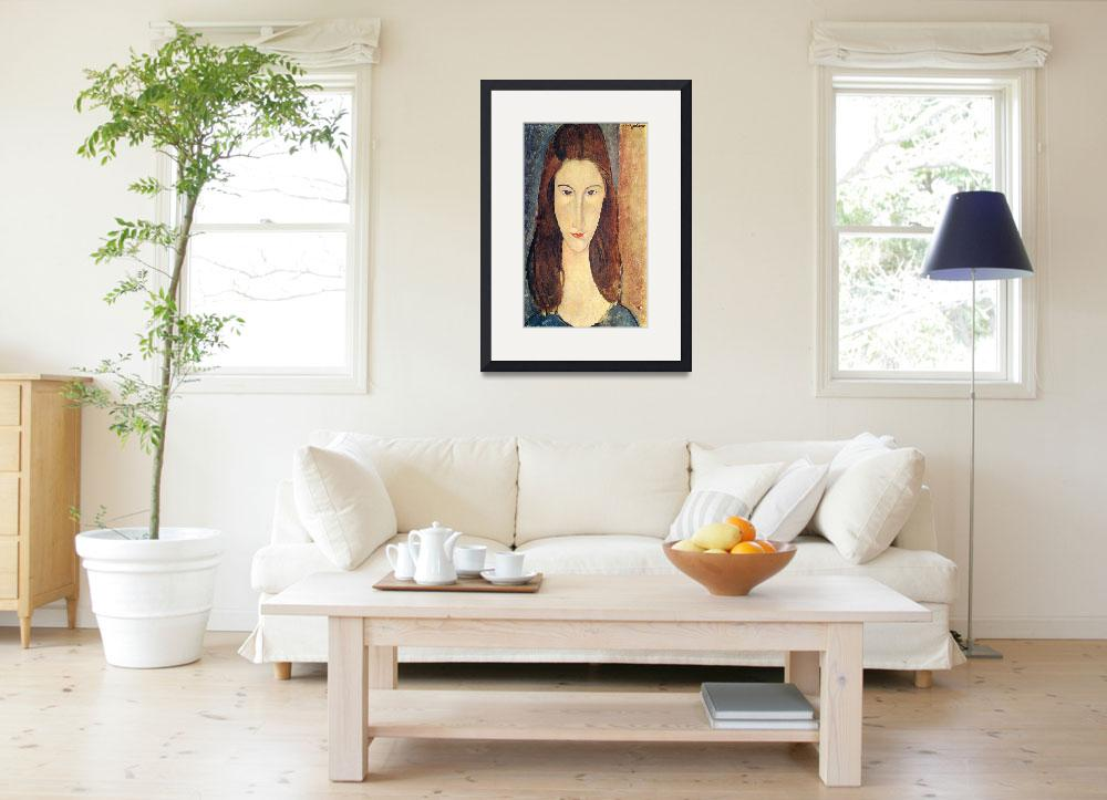 """""""Amedeo Clemente Modigliani Painting 47&quot  by ArtLoversOnline"""