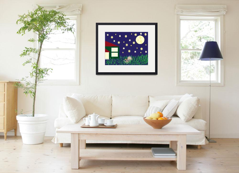 """""""Dreaming of Space&quot  (2011) by ValeriesGallery"""